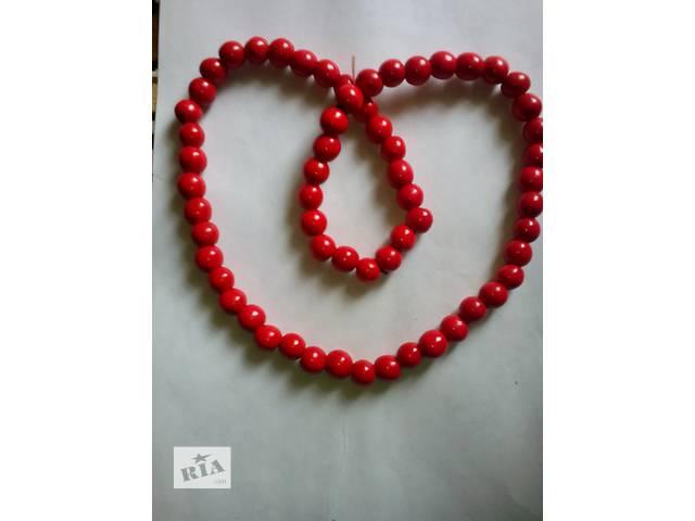 Комплект бижутерии (бусы+браслет)- объявление о продаже  в Бердянске