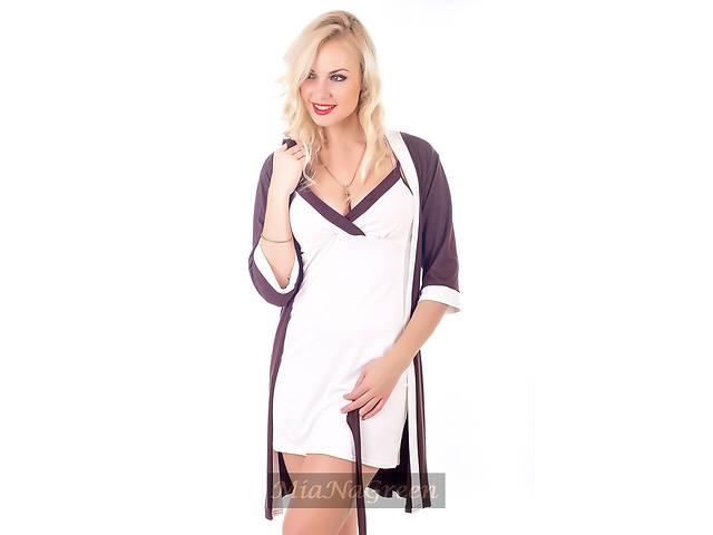 продам Комплект для дома, ночная рубашка+халат, К110н бу в Харькове