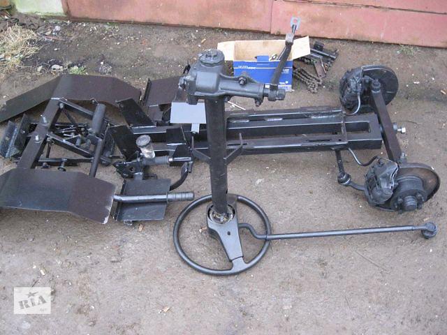 Переоборудование мотоблока в минитрактор