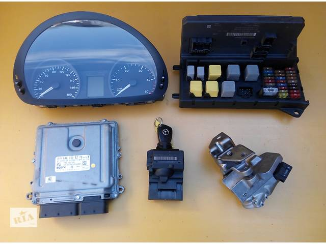 бу Комплект ЭБУ, блок управления двигателем Mercedes Sprinter 906 903 ( 2.2 3.0 CDi) 215, 313, 315, 415, 218, 318 (2000-12р в Ровно