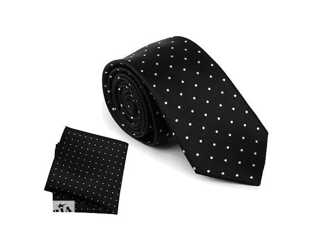 Комплект: галстук и платок. Натуральный шелк- объявление о продаже  в Киеве