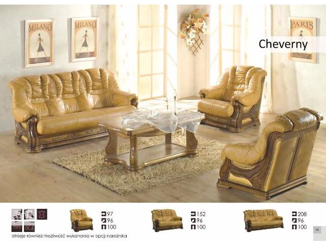 бу Комплект кожаной мебели Cheverni польский производитель в Киеве