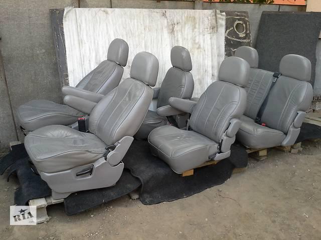 бу Комплект кожаных сидений для Минивена в Черновцах