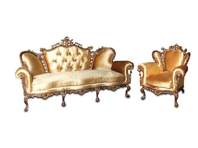 """продам Комплект мебели в стиле барокко - """"Изабелла"""" 3р+1. Ткань. Бесплатная доставка бу в Киеве"""