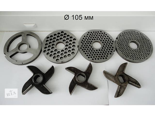 Комплект ножей и решеток к мясорубке МИМ-105, МИМ-600. Новый!- объявление о продаже  в Сумах