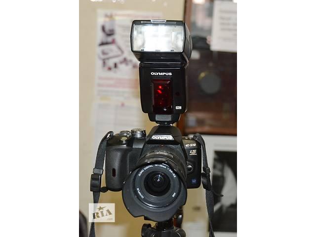 продам Комплект Olympus E-510 Kit(14-42),Zoom(40-150), вспышка Olympus FL-50R бу в Одессе