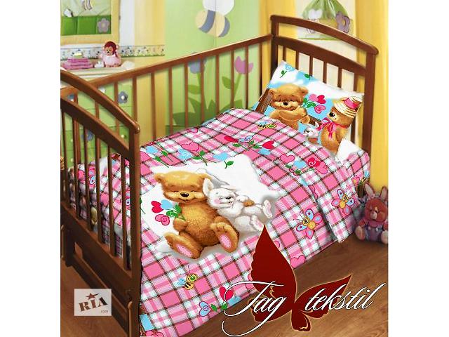 купить бу Комплект постельного белья в детскую кроватку ТМ TAG в Киеве
