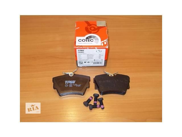 Комплект задних тормозных колодок  TRW  Германия  на 1.9 / 2.0 / 2.5dci - RENAULT TRAFIC / OPEL VIVARO- объявление о продаже  в Луцке