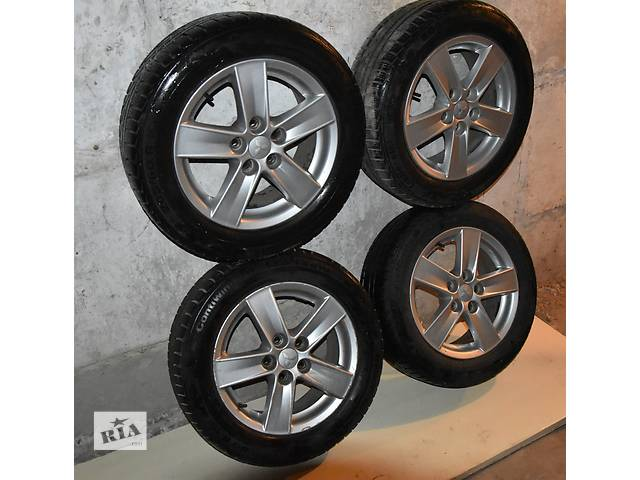 купить бу Комплект зимних колес на Mitsubishi lancex X. Литые диски + резина.  в Полтаве