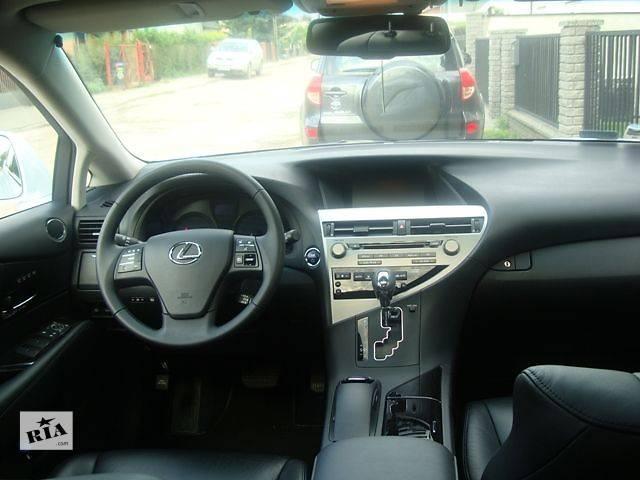бу Компоненты кузова Торпедо/накладка Легковой Lexus RX 350,450 2009-2015 в Старом Самборе