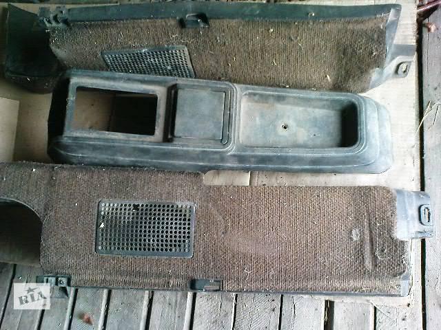 бу Боковые полочки в багажник, Центральная консоль на Volkswagen Passat B2 в Никополе