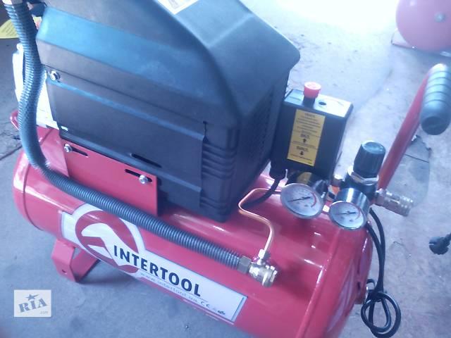 купить бу компресор INTERTOOL 24 литрра в Харькове