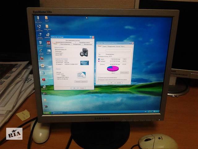 продам Компьютер Intel Celeron/512МБ/40ГБ+монитор  бу в Киеве