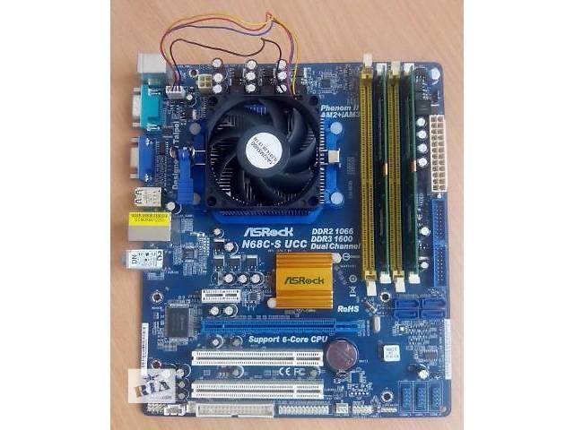 продам Компьютер материнская плата AM3 AM2 + CPU + 8Gb Памяти бу в Киеве