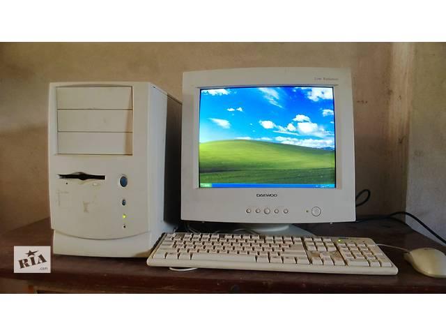 купить бу Компьютер с монитором рабочий в Днепре (Днепропетровск)
