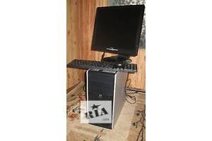 Компьютер HP 2-х ядерн + монитор 17