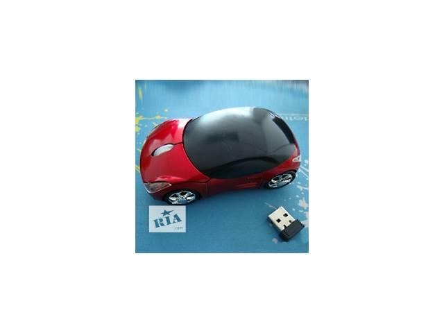 купить бу Компьютерная мышка машинка, USB мышка машинка, мышка машинка беспроводная, мышка-машинка для компьют в Киеве