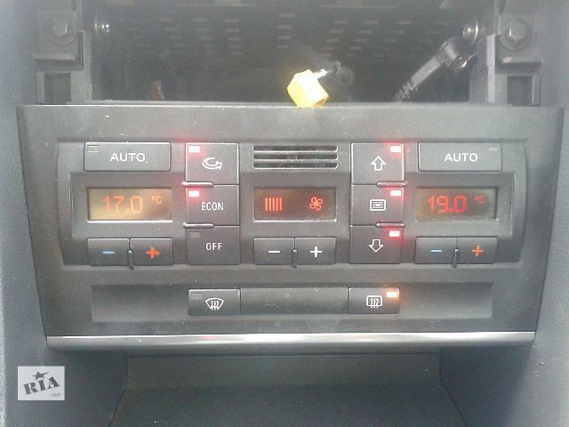 купить бу Кондиционер, обогреватель, вентиляция Блок управления печкой/климатконтролем Легковой Audi A4 2003 в Запорожье