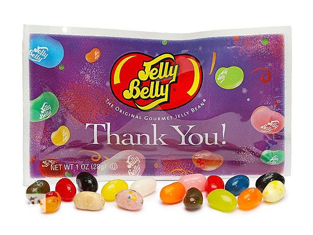 купить бу Конфеты ассорти 20 вкусов Thank You Jelly Belly в Харькове