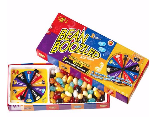 Конфеты Bean Boozled с рулеткой (Бин Бузлд от Jelly Belly)- объявление о продаже  в Харькове