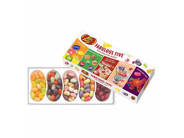 бу Конфеты Fabulous Five 5 миксов Jelly Belly в Харькове