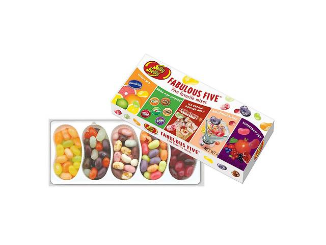 бу . Конфеты Jelly Belly Fabulous Five 26 вкусов в Харькове