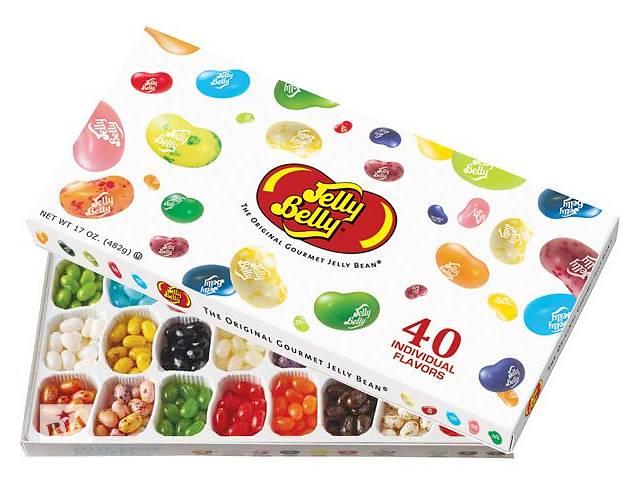 Конфеты JellyBellyGiftBox 40 вкусов- объявление о продаже   в Украине