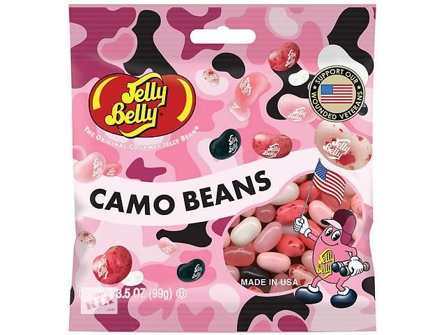 бу Конфеты JellyBellyPinkCamoBeans  в Украине