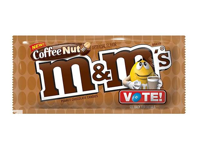 Конфеты M&M's Try All & Vote Coffee Nut- объявление о продаже  в Харькове