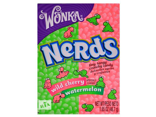 бу Конфеты Wonka Nerds Watermelon Wild Cherry в Харькове