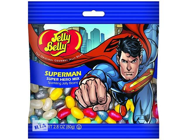 купить бу  КонфетыJellyBellySuperHeroMix Супермен  в Украине