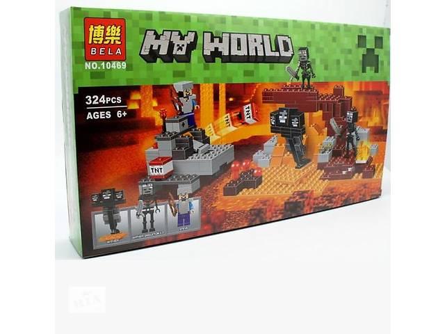 бу Конструктор Bela 10469 Иссушитель (аналог Lego Minecraft 21126) Майнкрафт  в Киеве