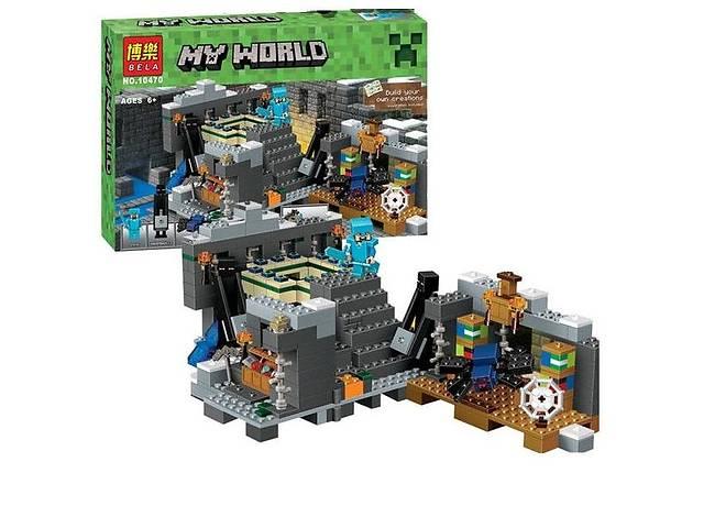 """бу Конструктор Bela 10470 """"Портал в край"""" (аналог Lego Minecraft 21124) Майнкрафт  в Киеве"""