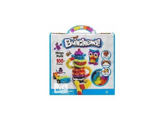 купить бу Конструктор вязкий пушистый шарик Bunchems (Банчемс) 100+  в Чернигове