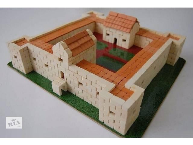 купить бу Конструктор из керамических кирпичиков Замок в Збараже в Киеве
