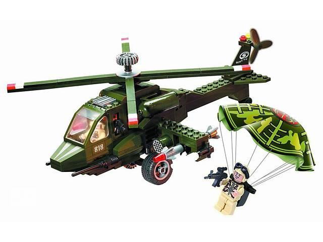 продам Констуктор BRICK 818 Военный вертолет, 275 детатей.   бу в Киеве