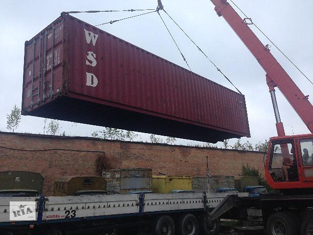 продам Контейнеры 20, 40 тонн. бу в Ровно