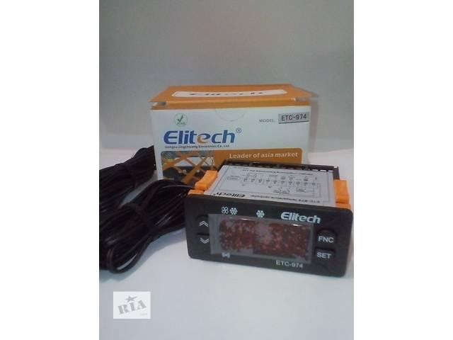 Контролер температури elitech etc-974 (повний аналог id-974, 2 датчика)- объявление о продаже  в Ровно
