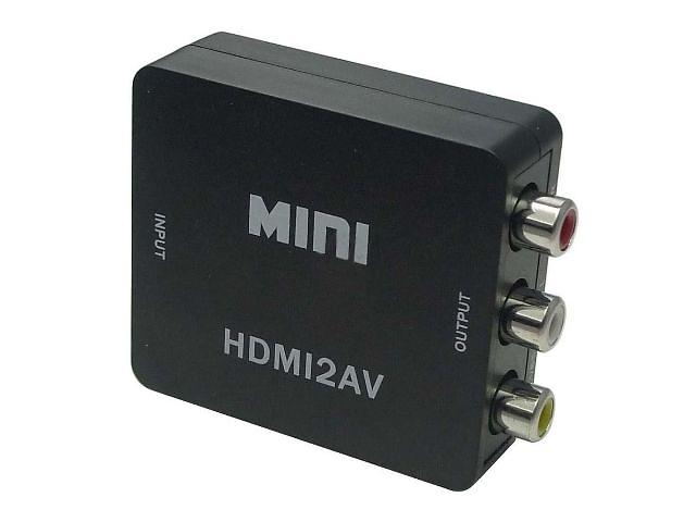 бу Конвертер HDMI to AV переходник + звук в Одессе