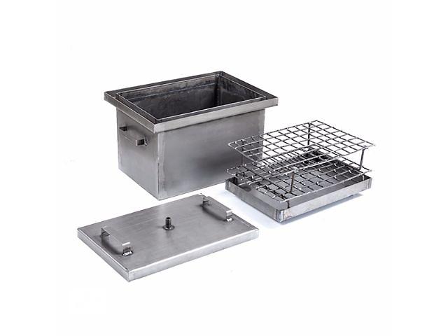 продам Коптильня горячего копчения не окрашена,2 мм сталь, 425*300*280 мм бу в Днепре (Днепропетровске)
