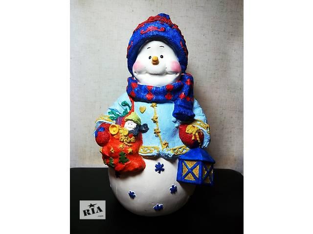 Снеговик под елочку! Отличный подарок на Новый Год!- объявление о продаже  в Николаеве