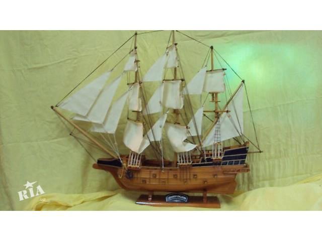бу Корабль сувенирный деревянный в Киеве