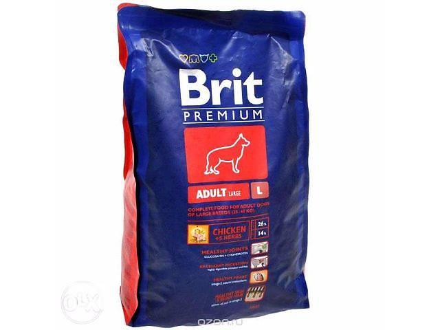 продам Корм Brite Premium L Расфасовка 15 кг. бу в Харькове