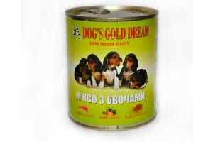 Консервы для собак Dogs Gold Dream