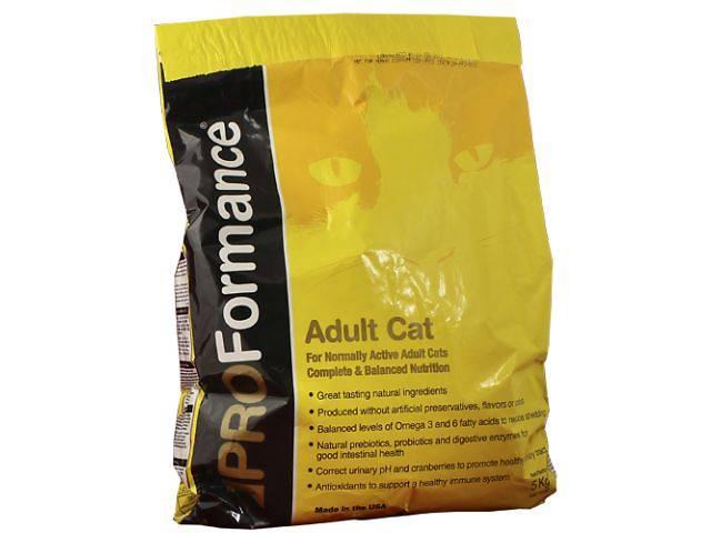купить бу Корм для кошек PROFormance (ПРОФорманс) c курицей сухой супер премиум корм для взрослых кошек в Харькове
