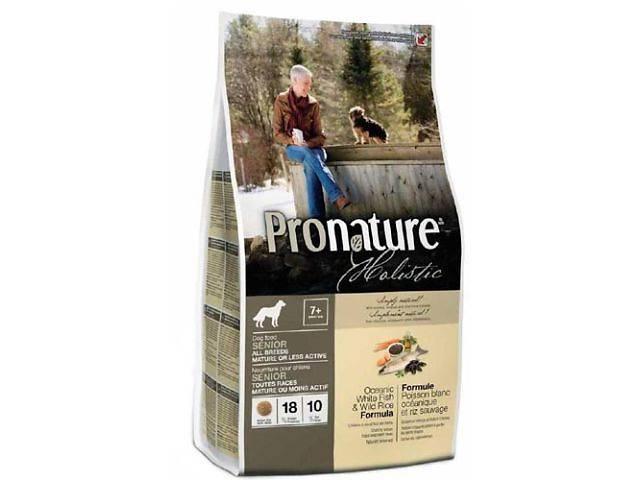 продам Корм для собак Pronature Holistic (Пронатюр Холистик) с океанической белой рыбой и диким рисом бу в Харькове