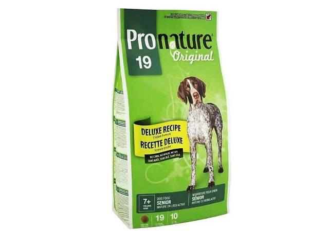 купить бу Корм для собак Pronature Original Deluxe Senior для пожилых собак в Харькове