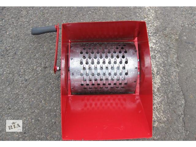 купить бу Корморезка ручная роторная (оцинкованный барабан) в Токмаке
