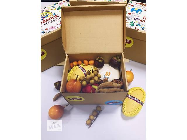 бу Коробка с экзотическими фруктами CrazyBox Demo  в Украине