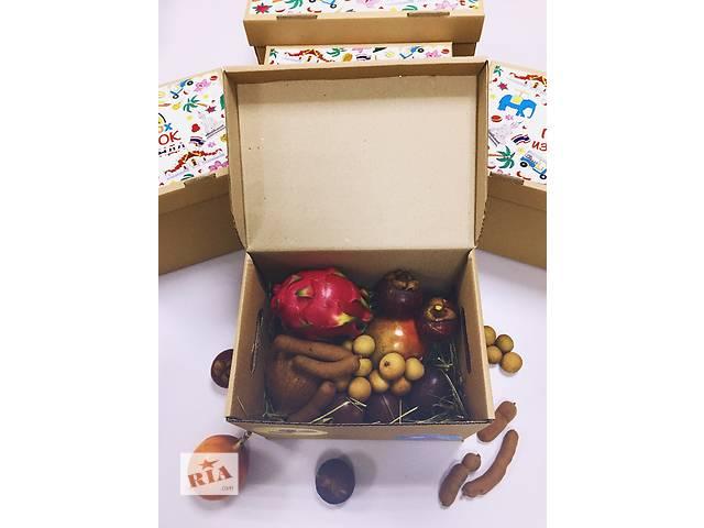 купить бу Коробка с экзотическими фруктами CrazyBox Standart Small  в Украине